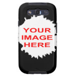 JAGGED HOLE TEMPLATE SAMSUNG GALAXY SIII CASES