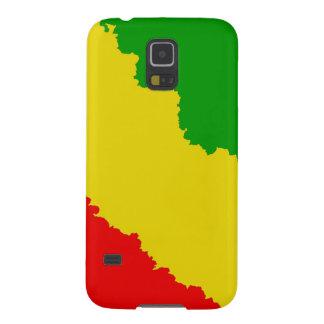 Jagged Rasta Stripes Case For Galaxy S5
