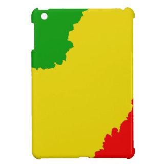 Jagged Rasta Stripes iPad Mini Case