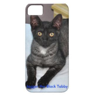 Jagger la caja negra del iPhone del Tabby Funda Para iPhone SE/5/5s