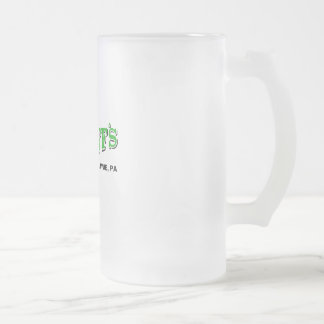 Jagoff's Frosted Glass Beer Mug