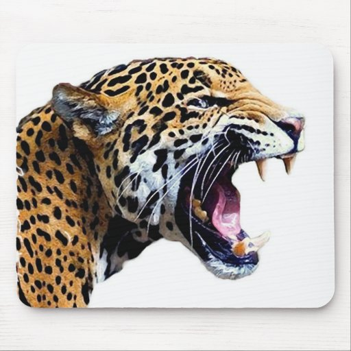 jaguar alfombrillas de ratón