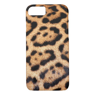 Jaguar Animal Pattern Faux Fur iPhone 7 Case