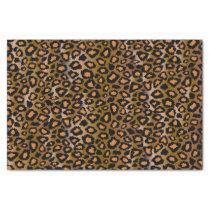 Jaguar Animal Print Pattern Tissue Paper