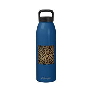 Jaguar Animal Print Reusable Water Bottle
