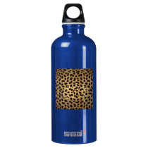 Jaguar Animal Print Water Bottle