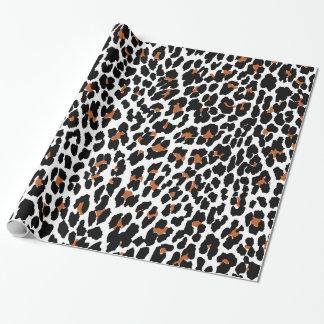 Jaguar Animal Print Wrapping Paper