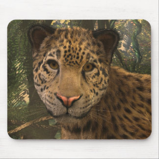 Jaguar animated mousepad