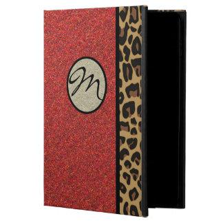 Jaguar atractivo y caja roja del aire 2 del iPad