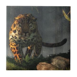Jaguar Azulejo Cuadrado Pequeño
