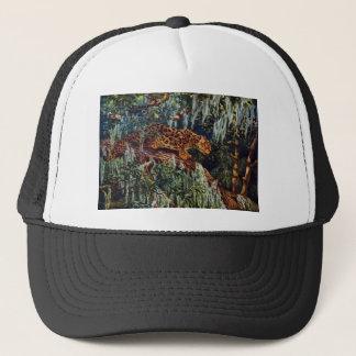 Jaguar Beneath Spanish Moss Trucker Hat