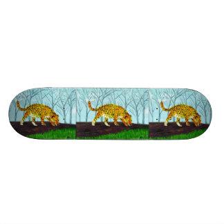Jaguar Big Cat Art Skateboard