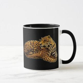 Jaguar Black Mug