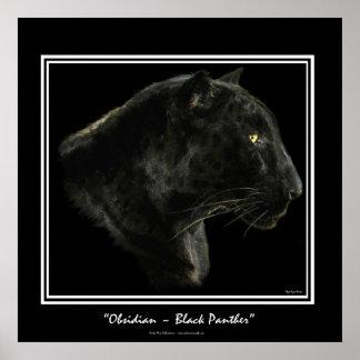 Jaguar, Black Panther Big Cat Art Print