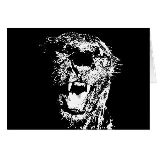 Jaguar - Black Panther Card
