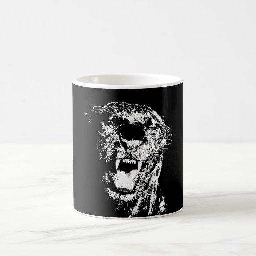 Jaguar - Black Panther Mugs