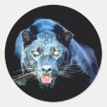 Jaguar - Black Panther Sticker