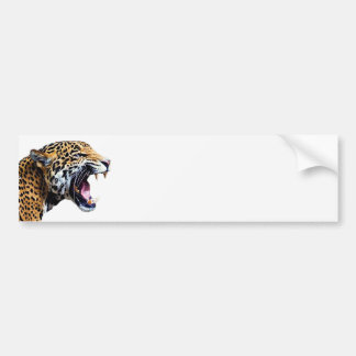 jaguar pegatina de parachoque
