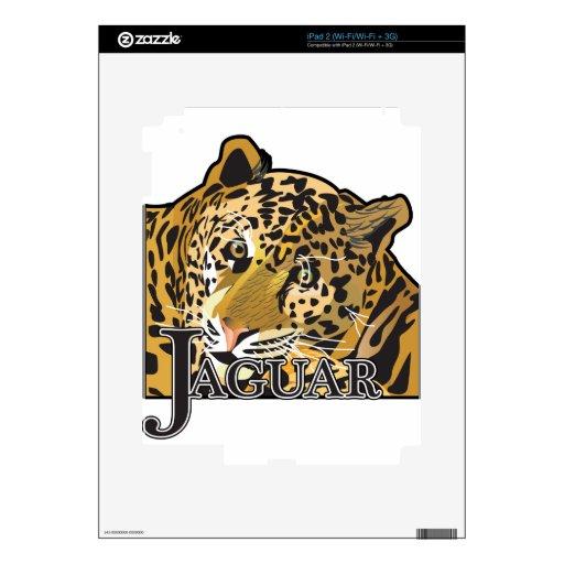 Jaguar Calcomanías Para El iPad 2