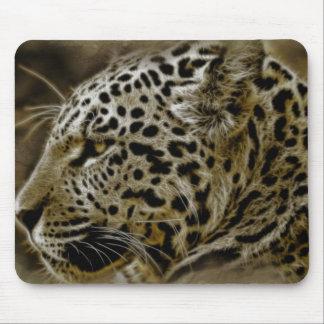 Jaguar Cat Spots Destiny Nature Safari Mouse Pad