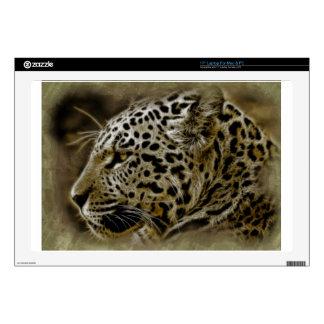 "Jaguar Cat Spots Destiny Nature Safari 17"" Laptop Skin"