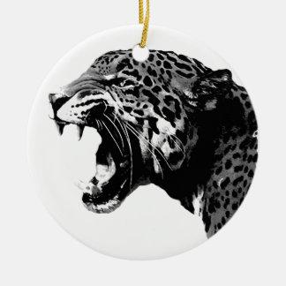Jaguar Ceramic Ornament