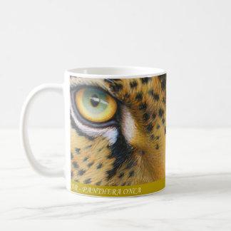 Jaguar Classic White Coffee Mug