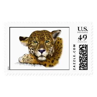 Jaguar coloreó sellos