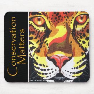 Jaguar- Conservation Matters Mouse Pads