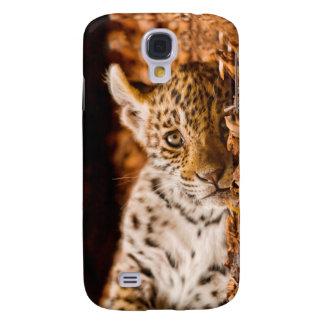 Jaguar Cub Lying in Foliage Samsung S4 Case