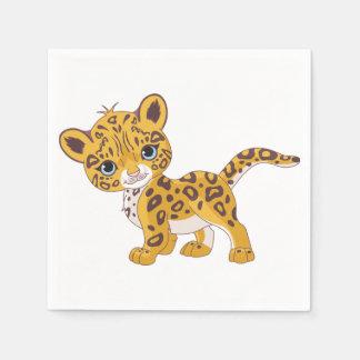 Jaguar Cub Paper Napkins