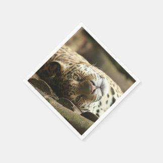 Jaguar de reclinación servilletas desechables