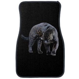 Jaguar Diablo black car mats front