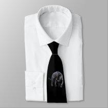 Jaguar Diablo business tie (2-sided)