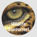 Jaguar Endangered Species Stickers