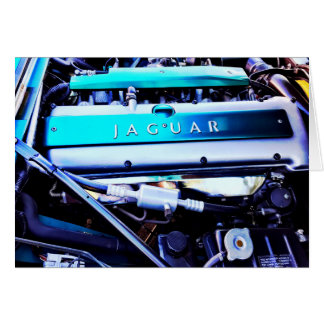 Jaguar engine card