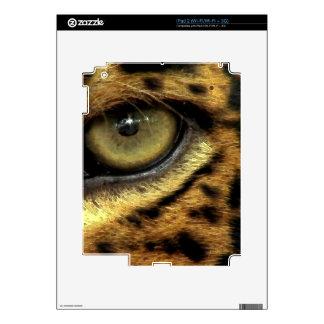 Jaguar Eye Wildlife Fantasy Designer Skin Decal For The iPad 2