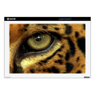 "Jaguar Eye Wildlife Fantasy Designer Skin Decals For 17"" Laptops"