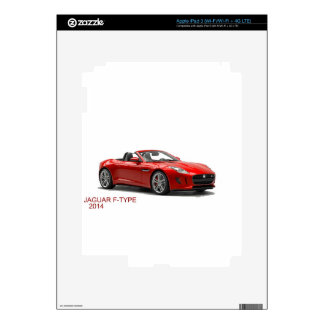 Jaguar F-TYPE 2014 Decal For iPad 3
