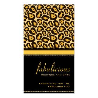 Jaguar Fabulous Business Card