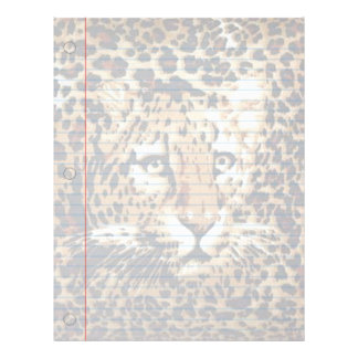 Jaguar Fantasy Notebook Paper