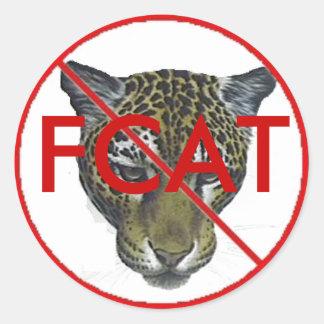 Jaguar FCAT Classic Round Sticker