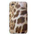 Jaguar Fur Big Cat Wildlife iPhone Case iPhone 3 Case-Mate Cases