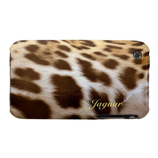 Jaguar Fur Big Cat Wildlife iPhone Case