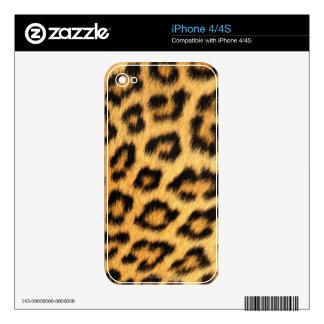 Jaguar Fur iPhone 4 Decals