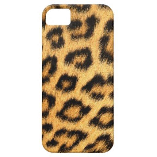 Jaguar Fur iPhone 5 Covers