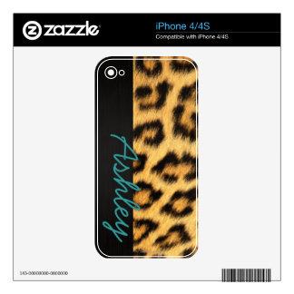 Jaguar Fur iPhone Skin iPhone 4 Skins