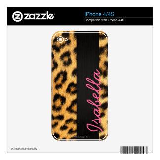 Jaguar Fur iPhone Skin Skin For iPhone 4
