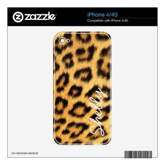 Jaguar Fur iPhone Skin Skin For The iPhone 4
