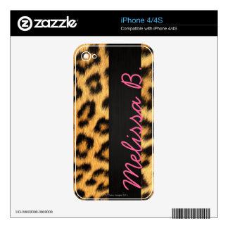 Jaguar Fur iPhone Skin Skin For The iPhone 4S